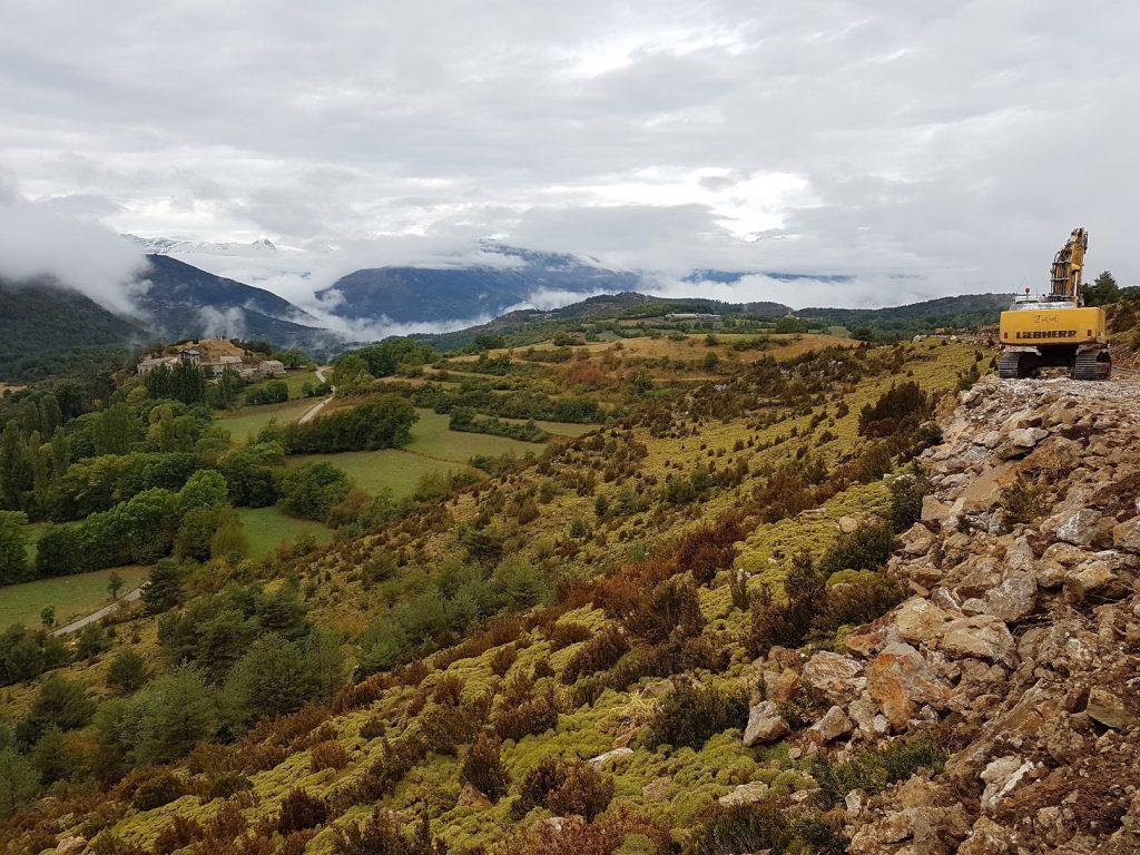 Control y seguimiento arqueológico en el entorno de la cueva prehistórica de Els Trocs (Bisaurri, Huesca). A. Alagón. ARQUEOPLUS. 2017.