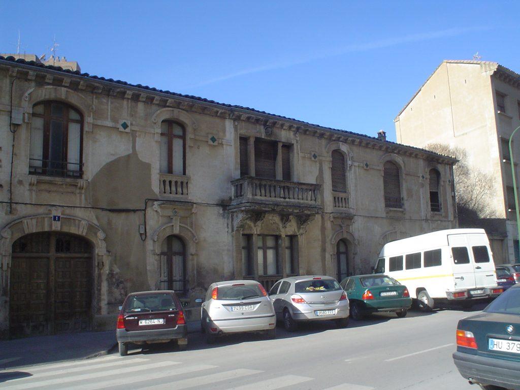 Av. Monreal Huesca. Foto Arqueoplus.