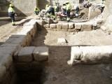 Excavación arqueológica en la Catedral de Huesca. Antonio Alagón. ARQUEOPLUS ©