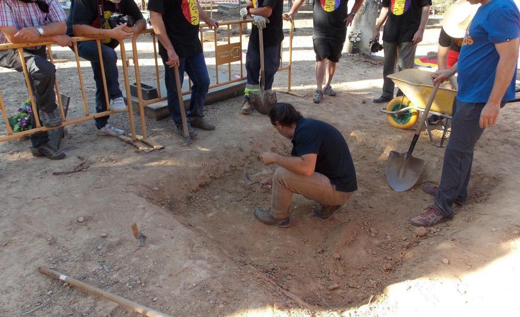 Exhumación Guerra Civil Huesca