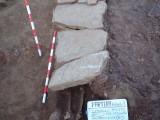 Necrópolis medieval. Castiello de Jaca. Excavación arqueológica. Antonio Alagón. ARQUEOPLUS ©
