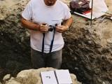 Excavación arqueológica en Huesca. Antonio Alagón. ARQUEOPLUS ©