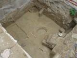 Excavación arqueológica en Huesca. C/Lastanosa. Antonio Alagón. ARQUEOPLUS ©