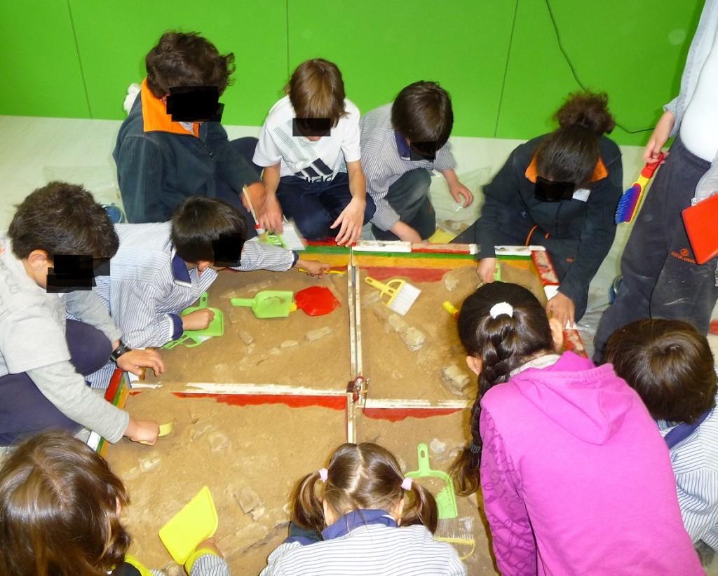 Arqueología para niños.